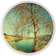 March 24 2010 Round Beach Towel