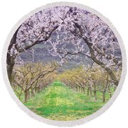 March 28 2010 Round Beach Towel