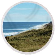 Marconi Highlands II Round Beach Towel