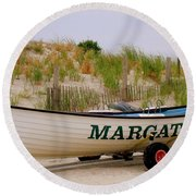 Margate Beach Round Beach Towel