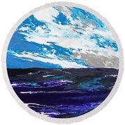 Mariner Round Beach Towel