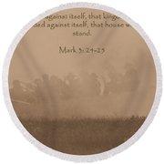 Mark 3 24-25 Round Beach Towel
