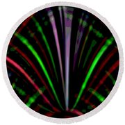 Marquee Round Beach Towel