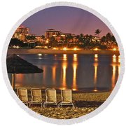 Marriott Lagoon Round Beach Towel
