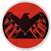Marvel's Agents Of S.h.i.e.l.d. Round Beach Towel