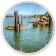 Mary D. Hume Round Beach Towel