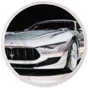 Maserati Alfieri Concept 2014 Round Beach Towel
