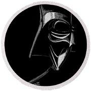 Masked Empire Round Beach Towel