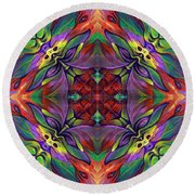 Masqparade Tapestry 7d Round Beach Towel