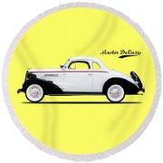 Master Deluxe Sport 1937 Round Beach Towel