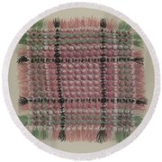Mat Round Beach Towel