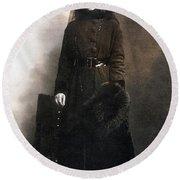 Mata Hari (1876-1917) Round Beach Towel