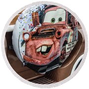 Mater Round Beach Towel