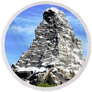 Matterhorn Peak Round Beach Towel