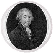 Matthew Boulton, English Manufacturer Round Beach Towel