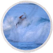 May Tagged Round Beach Towel