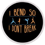 Mb 1142 Fitness Bend Dont Break 500 Round Beach Towel