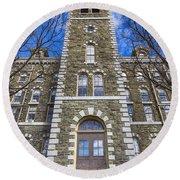 Mcgraw Hall - Cornell University Round Beach Towel