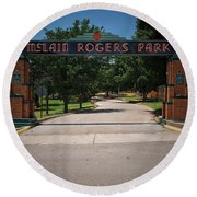 Mclain Rogers Park Round Beach Towel