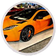 Mclaren 12c Coupe Round Beach Towel