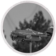 Me-262 2 Round Beach Towel