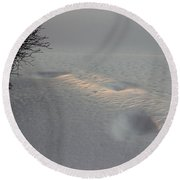 Means Of Survival Round Beach Towel