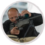 Mechanic Resurrection Round Beach Towel