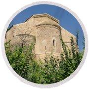 Medieval Abbey - Fossacesia - Italy 7 Round Beach Towel