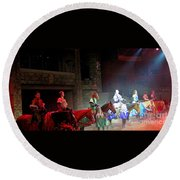 Medieval Times Dinner Theatre In Las Vegas Round Beach Towel