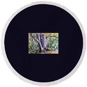 Melch Round Beach Towel