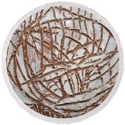 Mellow - Tile Round Beach Towel