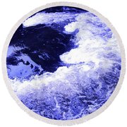 Memory Revisited Round Beach Towel