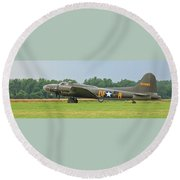 Memphis Belle 3912 Round Beach Towel