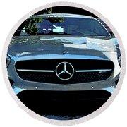Mercedes-benz Amg Gt S Round Beach Towel