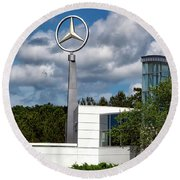 Mercedes - Benz Plant Round Beach Towel