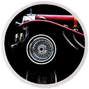 Mercedes Benz Ssk  Round Beach Towel