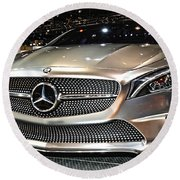 Mercedes Benz Style Coupe Concept Number 1 Round Beach Towel