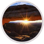 Mesa Sunrise Round Beach Towel
