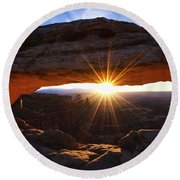 Mesa Sunrise Round Beach Towel