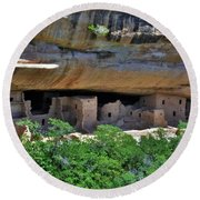 Mesa Verde National Park 4 Round Beach Towel