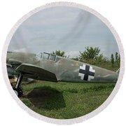 Messerschmitt Bf109 - 2 Round Beach Towel