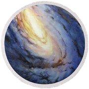 Messier 66 Round Beach Towel