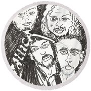 Metallica Round Beach Towel