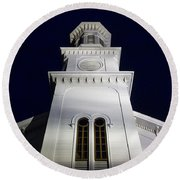 Methodist Steeple Round Beach Towel