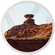 Mexican Hat, Utah Round Beach Towel