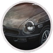 Mgb Rubber Bumper Front Round Beach Towel