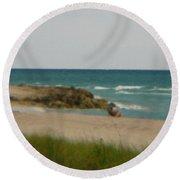 Miami Round Beach Towel