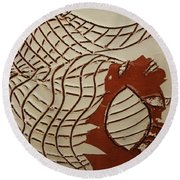 Mica - Tile Round Beach Towel