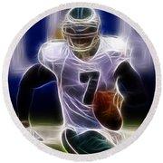 Michael Vick - Philadelphia Eagles Quarterback Round Beach Towel
