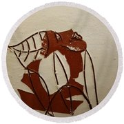 Michelle - Tile Round Beach Towel